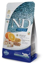 N&D OCEAN - N&D Ocean Morina Balıklı Düşük Tahıllı Kedi Maması 1,5 Kg.