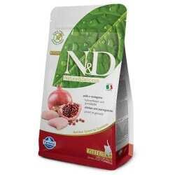 N&D PRIME - N&D Prıme Tahılsız Tavuk & Nar Yavru, Hamile, Emziren Kedi Maması 5 Kg. (1)