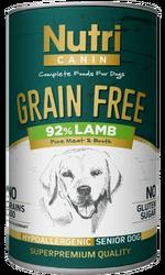 Nutri Canin - Nutri Canin Kuzu Etli Patatesli Tahılsız Yaşlı Köpek Maması 400 Gr. (1)