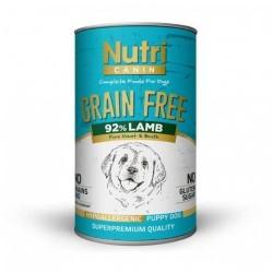 Nutri Feline - Nutri Canine Tahılsız Kuzulu Yavru Köpek Konservesi 400 Gr. (1)