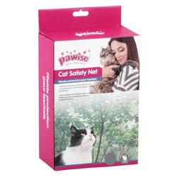 Pawise - Pawise Kedi Filesi Balkon Ve Pencere İçin Transparan 2 X 1,5 M (1)