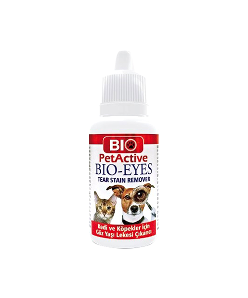 Bio Pet Active - Pet Active Bio Eyes Kedi ve Köpek Göz Yaşı Leke Çıkarıcı 50 Ml.