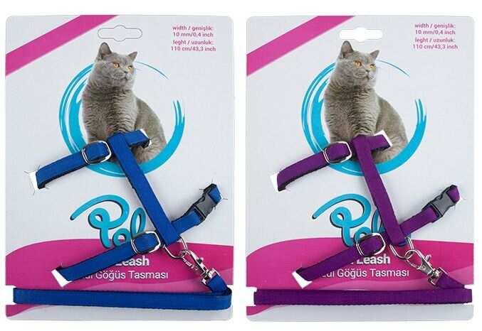 - Polo Kedi Göğüs Takım Tasması