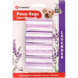 Flamingo - Poop Tuvalet Poşe.Lavanta 4X15