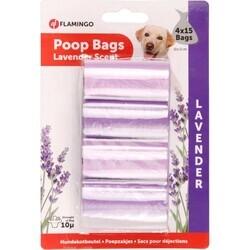 Flamingo - Poop Tuvalet Poşe.Lavanta 4X15 (1)