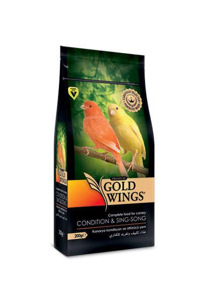 Gold Wings - Premium Kanarya Kondisyon-Öttürücü 200 gr