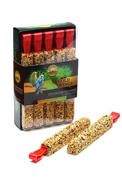 Gold Wings - Premium Muh.Krakeri Ballı-Meyveli 10'lu