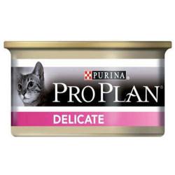 Pro Plan - Pro Plan Delicate Hassas Hindi Etli Kedi Konservesi 85 Gr.