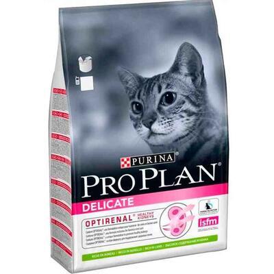 Pro Plan Delicate Kuzu Etli Kedi Maması 10 Kg.