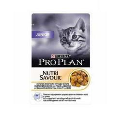 Pro Plan - Pro Plan Junior Yavru Kediler İçin Tavuk Etli Yaş 85 Gr.
