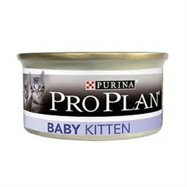 Pro Plan - Pro Plan Kedi Baby Cat yaş mama Chicken 85 Gr.