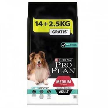Pro Plan - Pro Plan Kuzu Etli Yetişkin Köpek Maması Medium Sensitive 16,5 Kg.