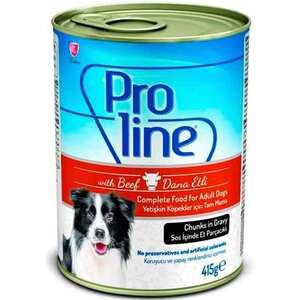 Proline - ProLine Dana Etli Yavru Köpek Konservesi 415 Gr