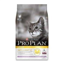 Pro Plan - Pro Plan Light Hindili Tavuklu Düşük Kalorili Yetişkin Kedi Maması 3 Kg. (1)