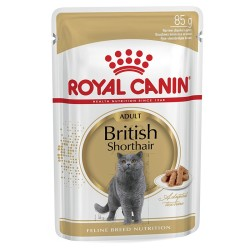 Royal Canın - Royal Canin British Shorthair Yetişkin Kedi Konservesi 85 Gr.