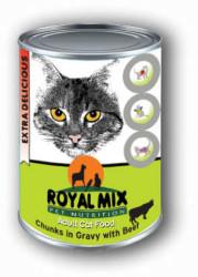 Royal MIX - Royal Mi X Sığır Etli Kedi Konservesi 415 Gr