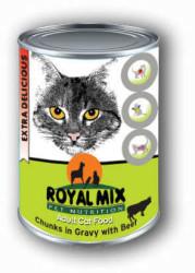 Royal MIX - Royal Mi X Sığır Etli Kedi Konservesi 415 Gr (1)