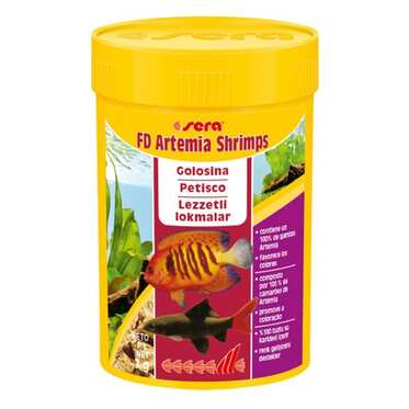Sera - Sera Fd Shrimp ( Artemia ) 100 Ml