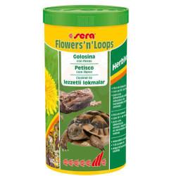 Sera - Sera Flowers N Loops Lezzetli Lokmalar Kaplumbağa Yemi 1000 Ml (1)