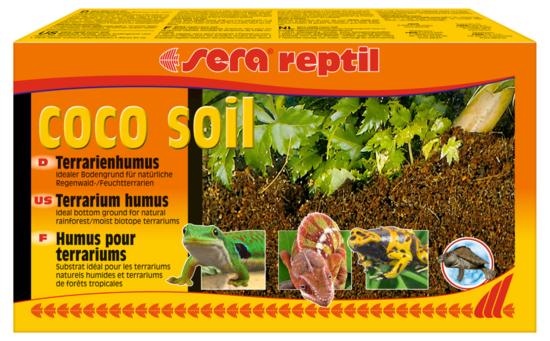 Sera - Sera Reptil Coco Soil Terraryum Humusu