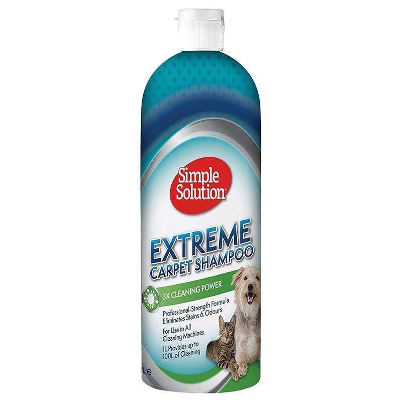 Simple Solution - Simple Solution Extreme 3 Kat Etkili Halı Yıkama Şampuanı 1 Lt.