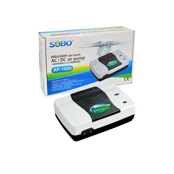 SOBO - Sobo Hava Motoru Şarjlı Dijital 12W 2X5 LtMin
