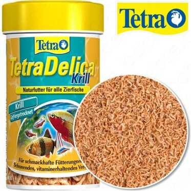 Tetra - Tetra Delıca Krıll Kurutulmuş Balık Yemi 100 Ml