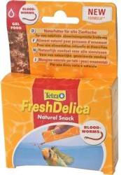 Tetra - Tetra Fresh Delica Blood Worms 16*3 Gr