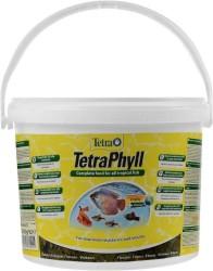 Tetra - Tetra Süs Balıkları İçin İdeal Phyll Flakes Vegetable 10 Litre Bitkisel Pul Yem