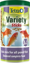 Tetra - Tetra Pond Variety Sticks Japon Balığı Yemi 1 Litre (1)