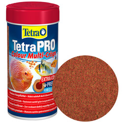 Tetra - Tetra Pro Colour Crisps Renklendirici Cips Balık Yemi 250 Ml