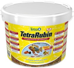 Tetra - Tetra Rubin Flakes Renklendirici Pul Yem 10 Litre / 2050 Gr