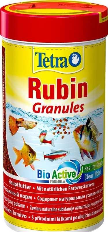 Tetra - Tetra Rubin Granules Renklendirici Balık Yemi 250 Ml