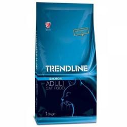 Trendline - Trendline Somonlu Yetişkin Kedi Maması 15 Kg. (1)
