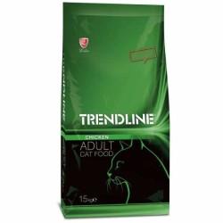 Trendline - Trendline Tavuklu Yetişkin Kedi Maması 15 Kg.