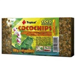 Tropical - Tropical Coco Chips Terraryum Zemin Malzemesi 1 Litre / 500 Gr