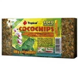 Tropical - Tropical Coco Chips Terraryum Zemin Malzemesi 1 Litre / 500 Gr (1)