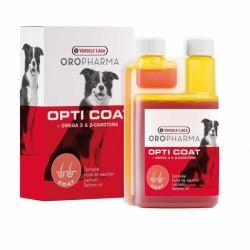 Versele Laga - Versele Laga Opti Coat Köpekler İçin Omega 3 - 6 İçeren Balık Yağı 250 Ml