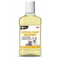 VetIQ - Vetıq Skin & Coat Kedi Ve Köpekler İçin Deri Ve Tüy Bakımı 250 Ml (1)