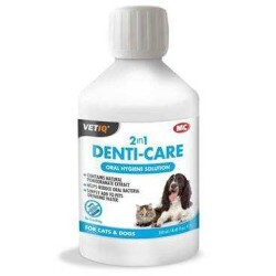 VetIQ - Vetıq 2 İn1 Denti Care Liquid- Oral Hijyen Solisyonu 250 Ml (1)
